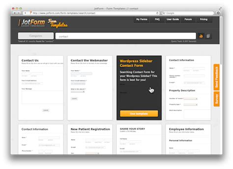 design online forms form templates gallery released over 500 ready to use forms