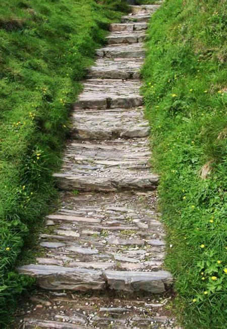 stone walkways  garden path design ideas