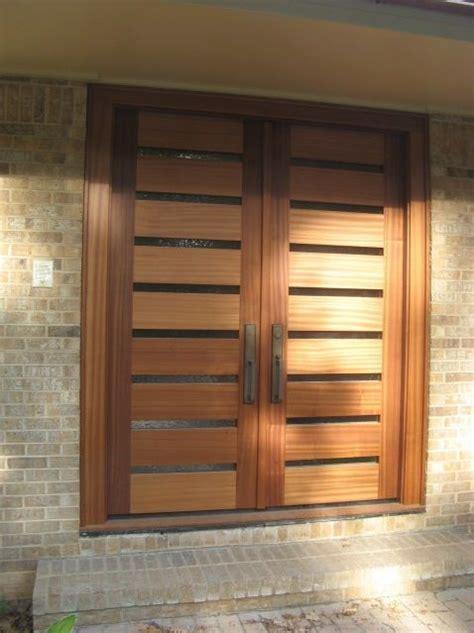 Sapele Exterior Doors Building A Sapele Entry Door With Glass Panels