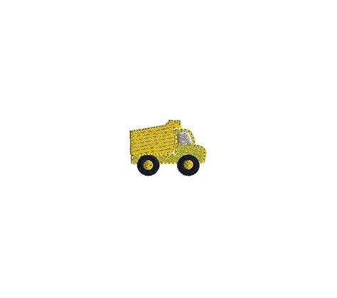 Design Dump Favorites by Mini Dump Truck Machine Embroidery Design Instant