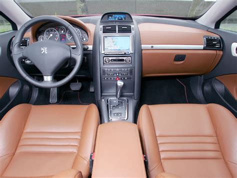 peugeot 407 coupe interior interior peugeot 407 coup 233 3 0 v6 lhd jp spec
