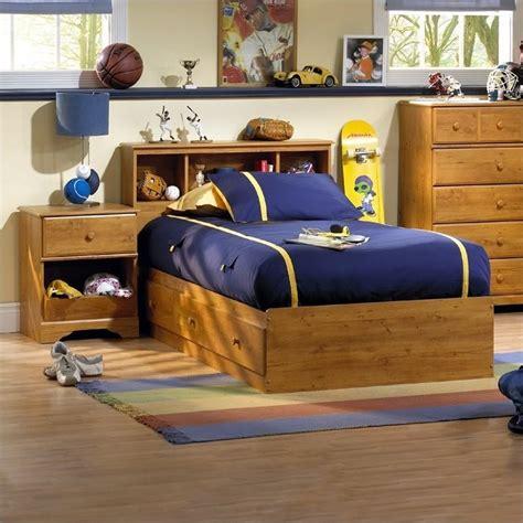 childrens pine bedroom furniture amesbury kids twin wood captain s bed 3 piece bedroom set