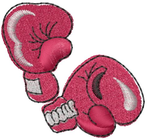 design embroidered gloves boxing gloves embroidery design from machine embroidery