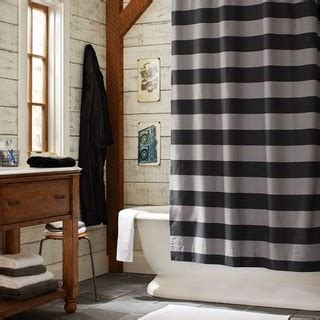 boys bathroom shower curtains rugby stripe shower curtain eclectic shower curtains