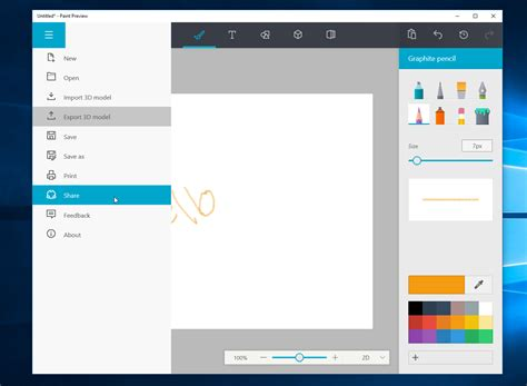 new paint microsoft s redesigned paint app for windows 10 looks awesome