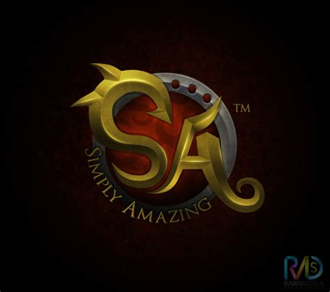 Amazing Logo 4 simply amazing logo by iamrawn on deviantart