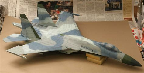 132 trumpeter su27 flanker b how to build