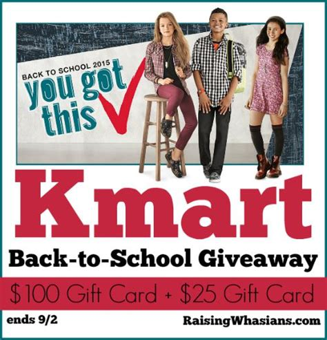 Kmart Giveaway - kmart gift card giveaway two winners