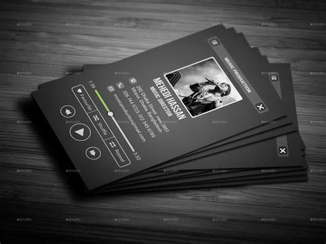 business cards for musicians template bundle business card by mehedi hassan graphicriver