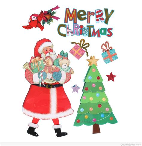 Santa Claus Merry 2 merry happy new year 2016 santa wishes