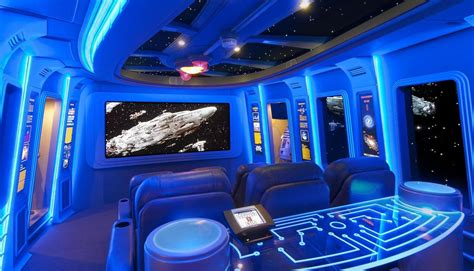pretty palliser in home theater contemporary with sci fi star wars day technology may the 4th be with you