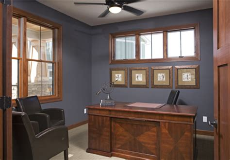 office sherwin williams peppercorn evan interiors
