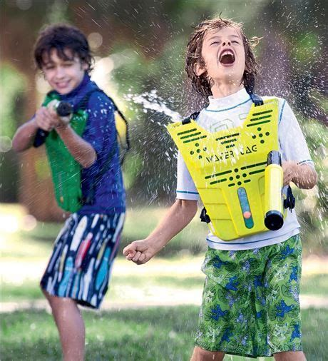 extreme water tag outdoor game objective shoot