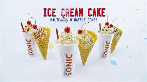 birthday cake shake sonic milkshake tv commercials ispot tv
