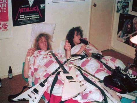 james hetfield house james hetfield and kirk hammett of metallica in 1983 at kirk s mothers house