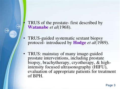 sextant prostate biopsy trus biopsy prostate