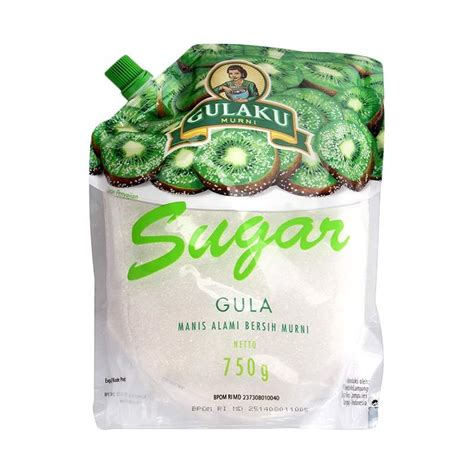 Gulaku 750g jual gulaku pouch kiwi 750 gr 4 pcs harga