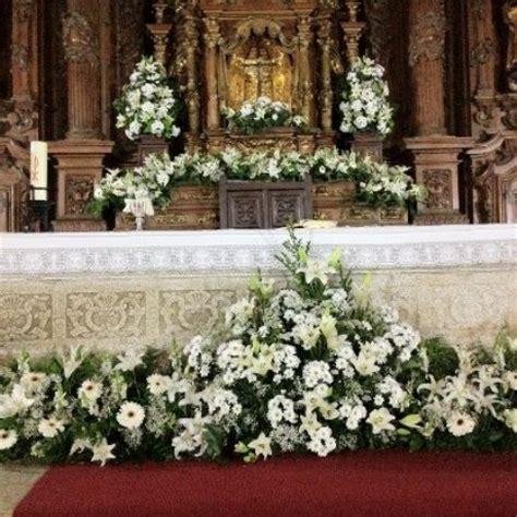 arreglos florales para confirmacion en iglesias decoraci 243 n de iglesias arreglo iglesia pinterest