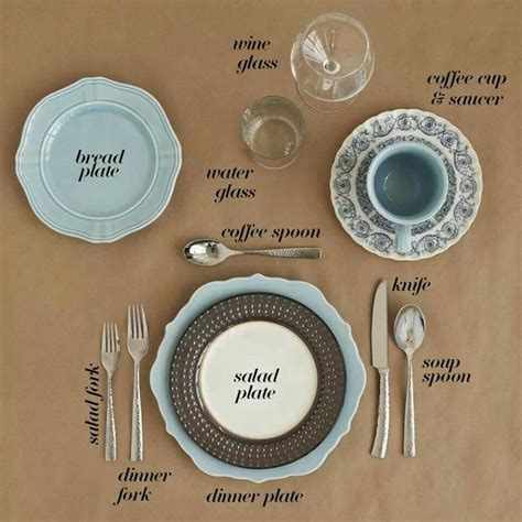 table place setting 1000 ideas about formal table settings on pinterest