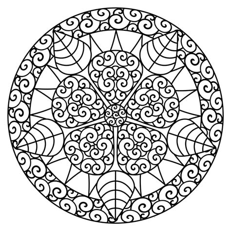 dibujos de mandalas para imprimir summer color pages online for kid printable to sweet