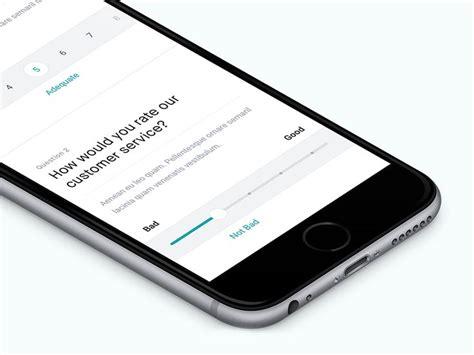app design questionnaire 26 best survey feedback ui images on pinterest survey