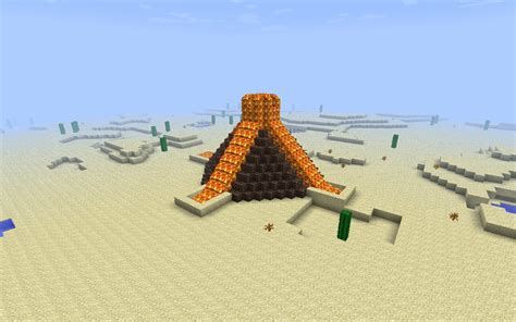 volcano house volcano house minecraft project