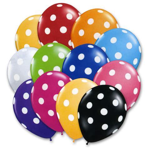 Balon Polkadot 12 by Balloons Images Usseek