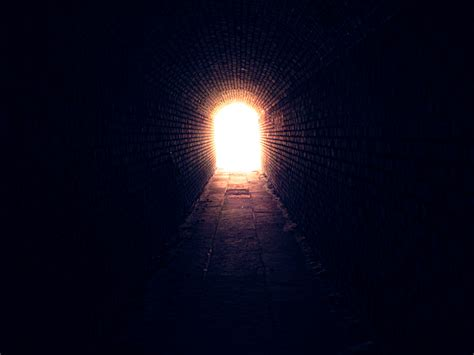 light at the end of the tunnel person www imgkid