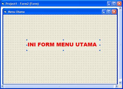 membuat form login sederhana dengan vb 6 0 cara membuat form login sederhana visual basic 6 untuk