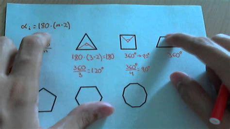 angulo interior de un poligono regular calcular los 225 ngulos interiores y 225 ngulos centrales de un