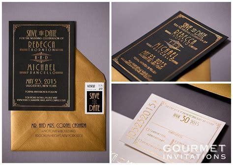 Wedding Invitations Deco by Deco Wedding Invitations Gourmet Invitations