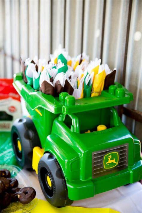 john deere themed birthday party kara s party ideas john deere tractor themed birthday
