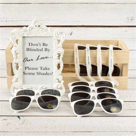 Wedding Favors Sunglasses by Wedding Favors Personalized Sunglasses A Wedding
