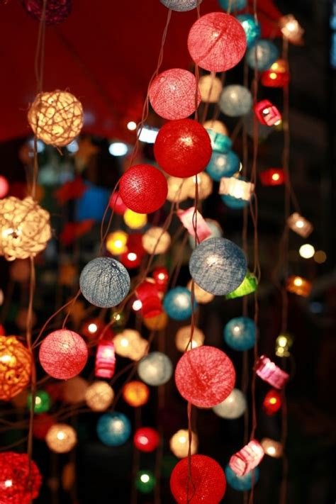 10 Ways To Decorate With String Lights Before Christmas Decorate With String Lights