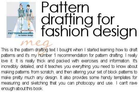 pattern making books for fashion design pdf pattern drafting books the best free software for your