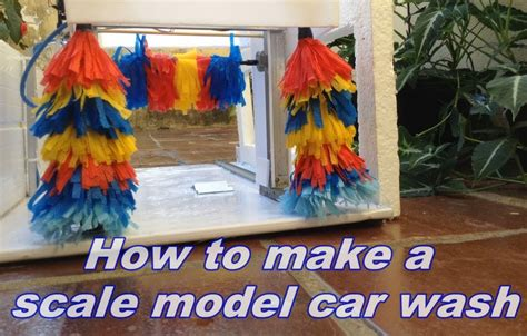 how to make a scale model of a room how to make a scale model car wash