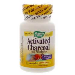 Charcoal Pills Detox by Activated Charcoal Nature S Way