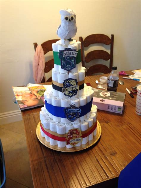 Harry Potter Baby Shower Theme by Harry Potter Cake Harry Potter Themed Baby Shower
