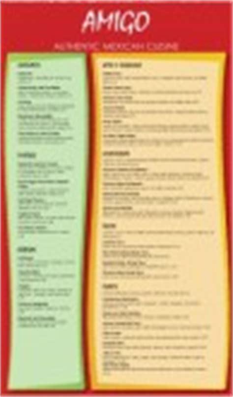 mexican breakfast menu
