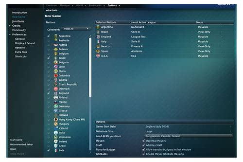 tips for football manager 2009