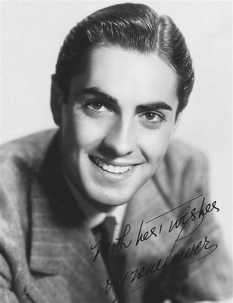 Actors From The 40s | tyrone power 1936 celebrities pinterest