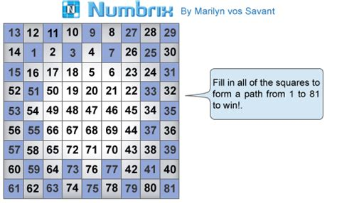 printable numbrix puzzles parade parade numbrix embed