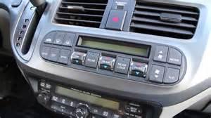 2004 Honda Accord Dash Lights Fix Honda Odyssey Climate Lights Dash Ex Ex L
