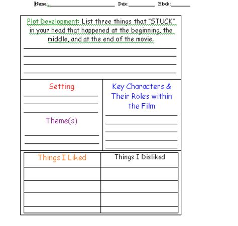 dlvideofhuhs movie review template 3