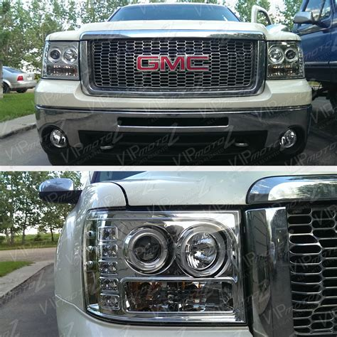 2008 gmc sierra led tail lights 2007 2008 2009 gmc sierra 2500hd denali twin halo led