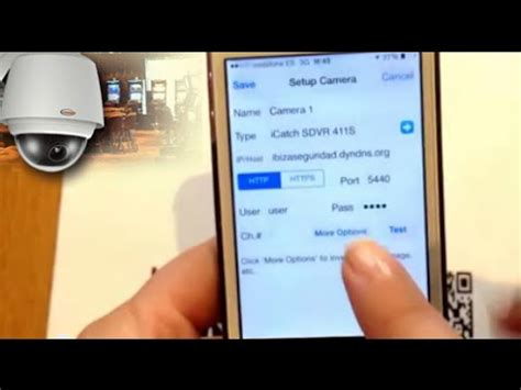 configure ip cam viewer for iphone or ipad youtube