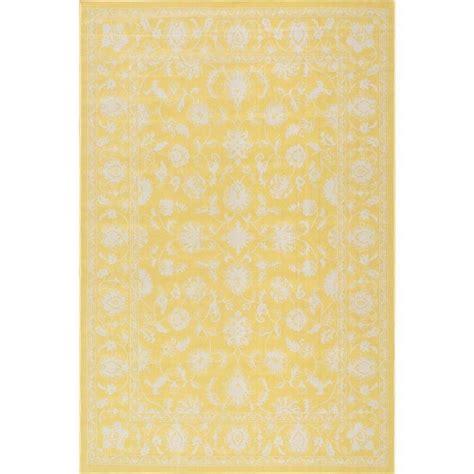 Yellow Outdoor Rug 8x10 Nuloom Pridgen Yellow 5 Ft X 7 Ft 6 In Indoor Outdoor Area Rug Cfjr03b 5076 The Home Depot