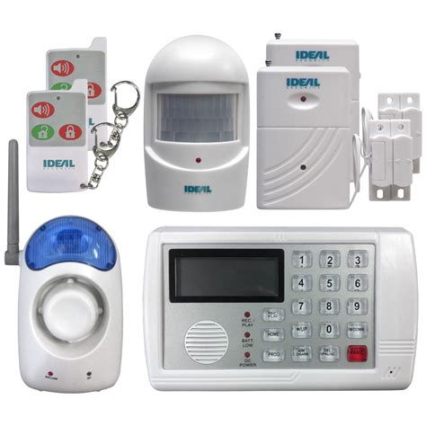 ideal security inc wireless home security system with