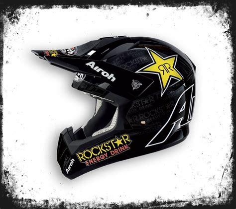 Helm Airoh Rockstar Airoh Helm Cr901 Rockstar Energy Atvx24