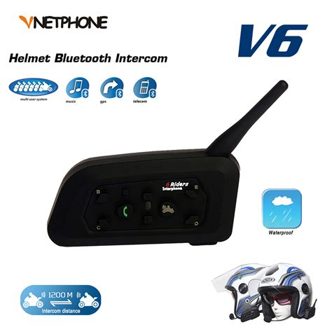 Cheapest VNETPHONE 1200M BT Bluetooth Motorcycle Helmet